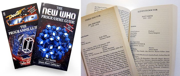 The New Who Programme Guide (comparison) (Credit: Paul Smith/Wonderful Books)