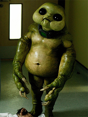 Korst Gogg Thek Lutiven-Day Slitheen - Image Credit: BBC