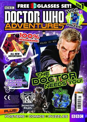 Doctor Who Adventures 1 (Credit: Panini)
