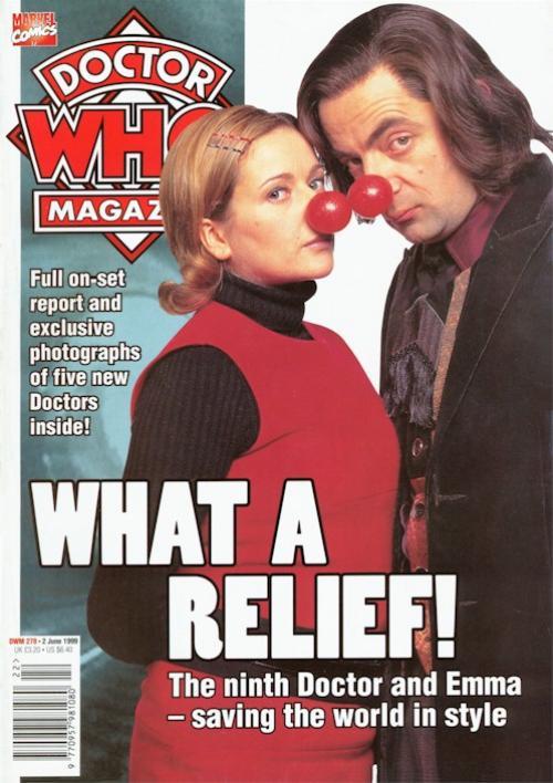 Doctor Who Magazine 278 (Credit: Marvel Comics)