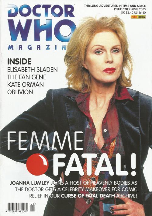 Doctor Who Magazine 328 (Credit: Panini Comics)