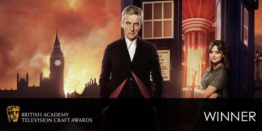 Doctor Who wins BAFTA