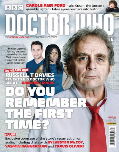 Doctor Who Magazine 486 (Credit: Panini )