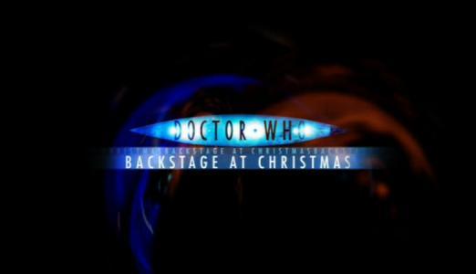 Doctor Who: Backstage at Christmas