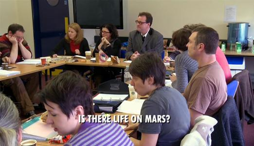 Doctor Who: Is There Life on Mars?