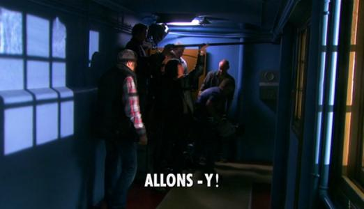 Doctor Who: Allons-y!