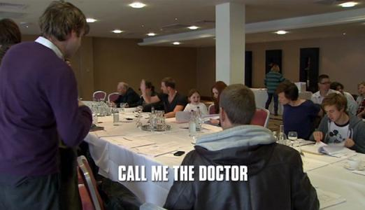 Doctor Who: Call Me The Doctor