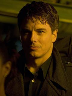 John Barrowman as Captain Jack Harkness in Utopia (Credit: BBC)
