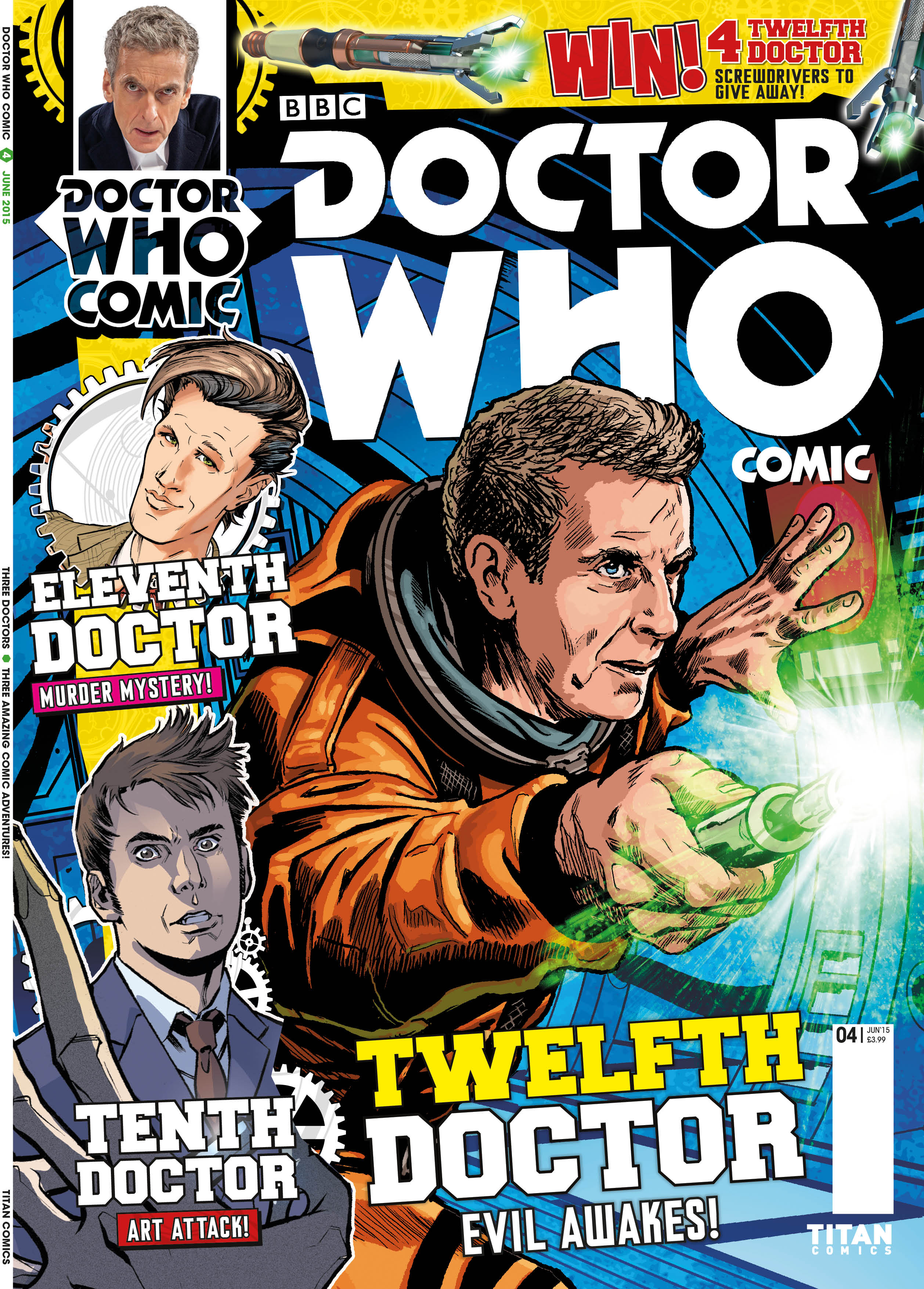 Doctor Who Comic UK #4 (Credit: Titan)