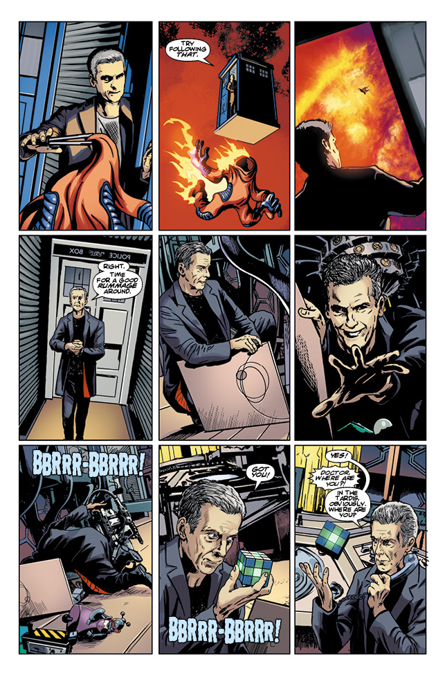 The Twelfth Doctor #8 (Credit: Titan)