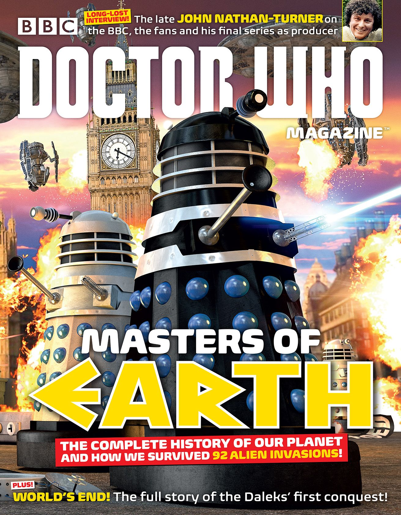 Doctor Who Magazine 487 (Credit: DWM)