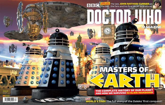 Doctor Who Magazine 487 (wraparound cover) (Credit: DWM)