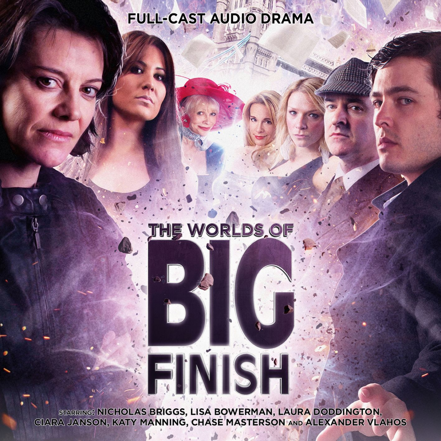 The Worlds of Big Finish (Credit: Big Finish)