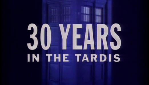 Doctor Who: 30 Years In The TARDIS