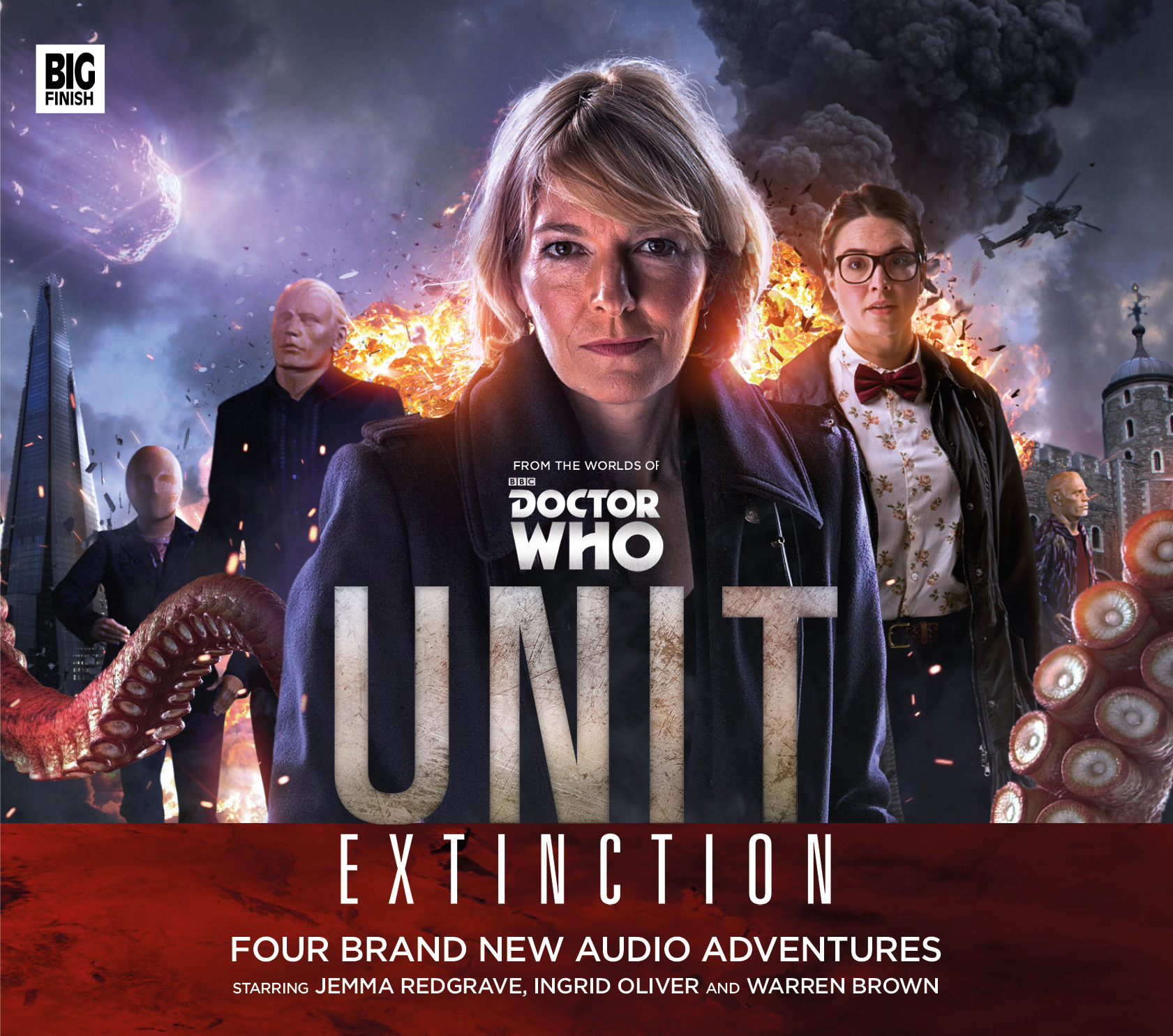 UNIT: Extinction (Credit: Big Finish)