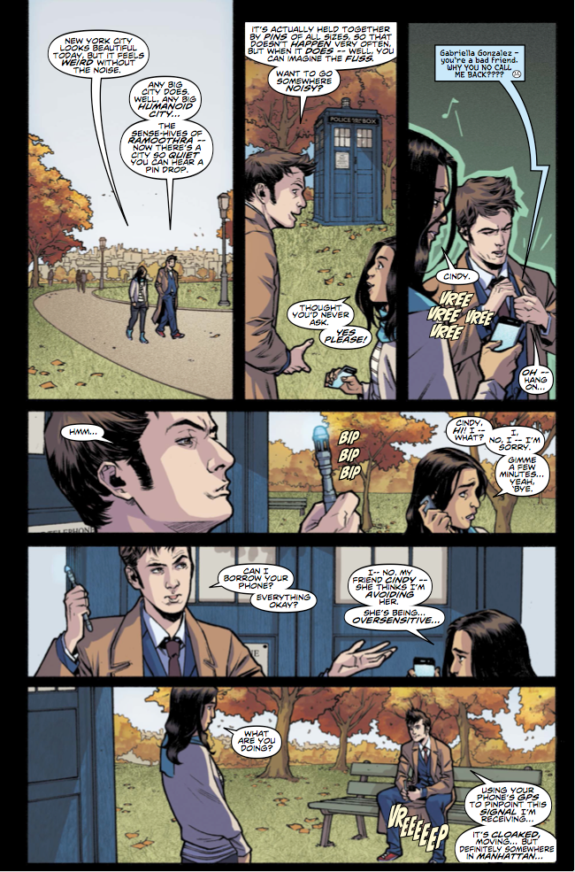 Doctor Who: The Tenth Doctor #11 (Credit: Titan)