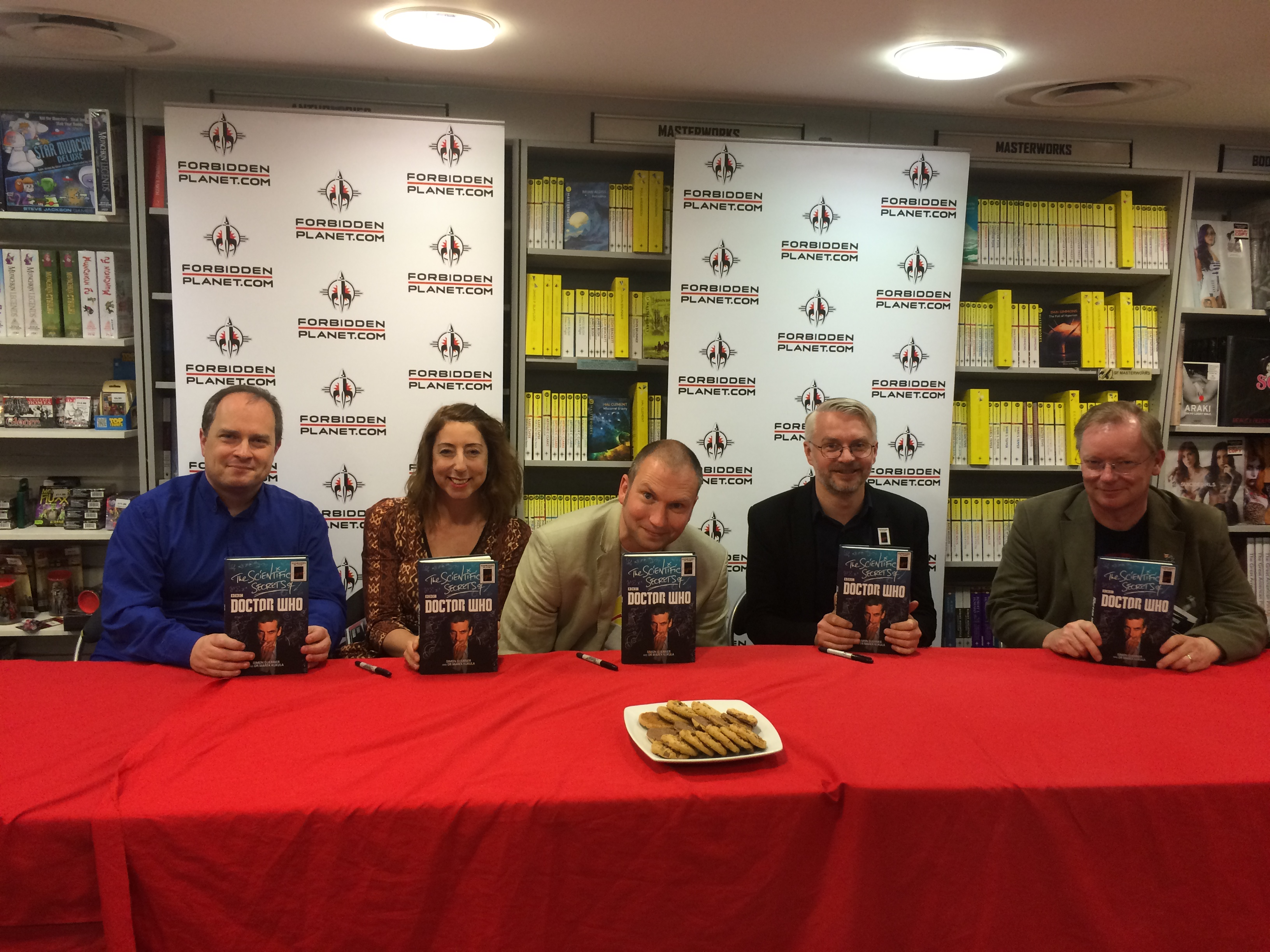 Forbidden Planet Signing