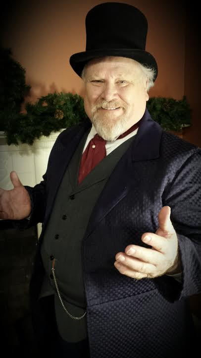 Colin Baker - A Christmas Carol (Credit: Anthony D.P. Mann)