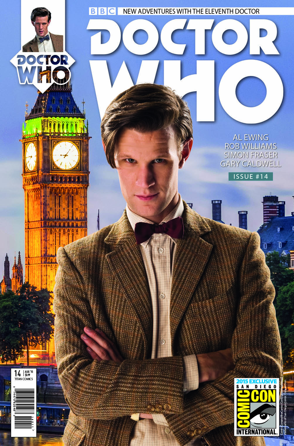 Doctor Who: Eleventh Doctor #14 (SDCC Exclusive Cover) (Credit: Titan Comics)