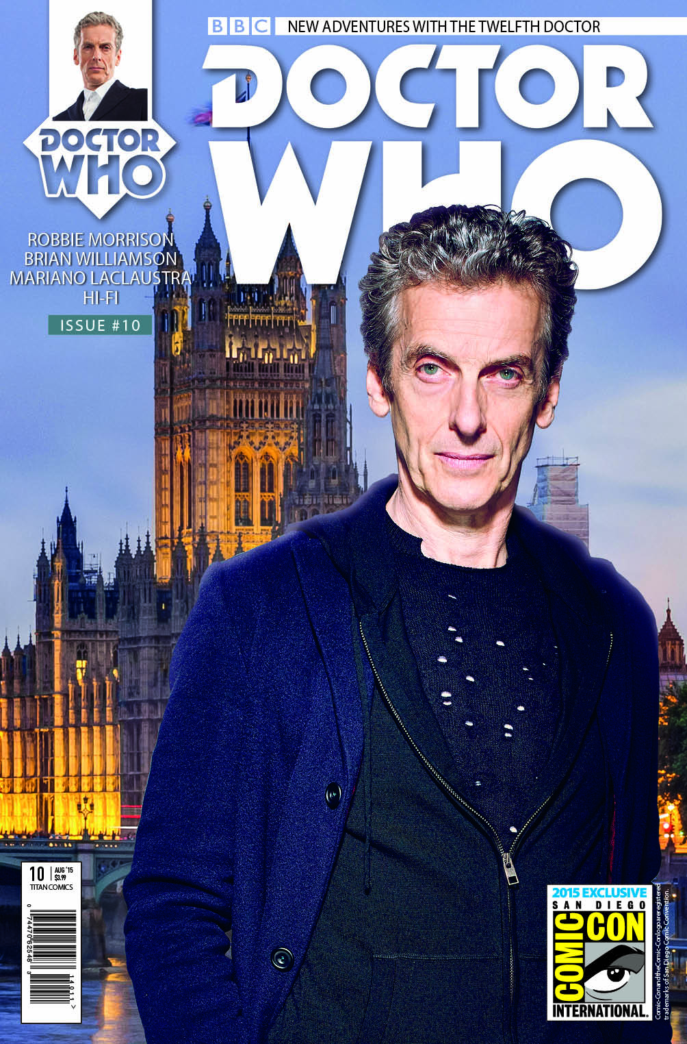 Doctor Who: Twelfth Doctor #11 (SDCC Exclusive Cover) (Credit: Titan Comics)
