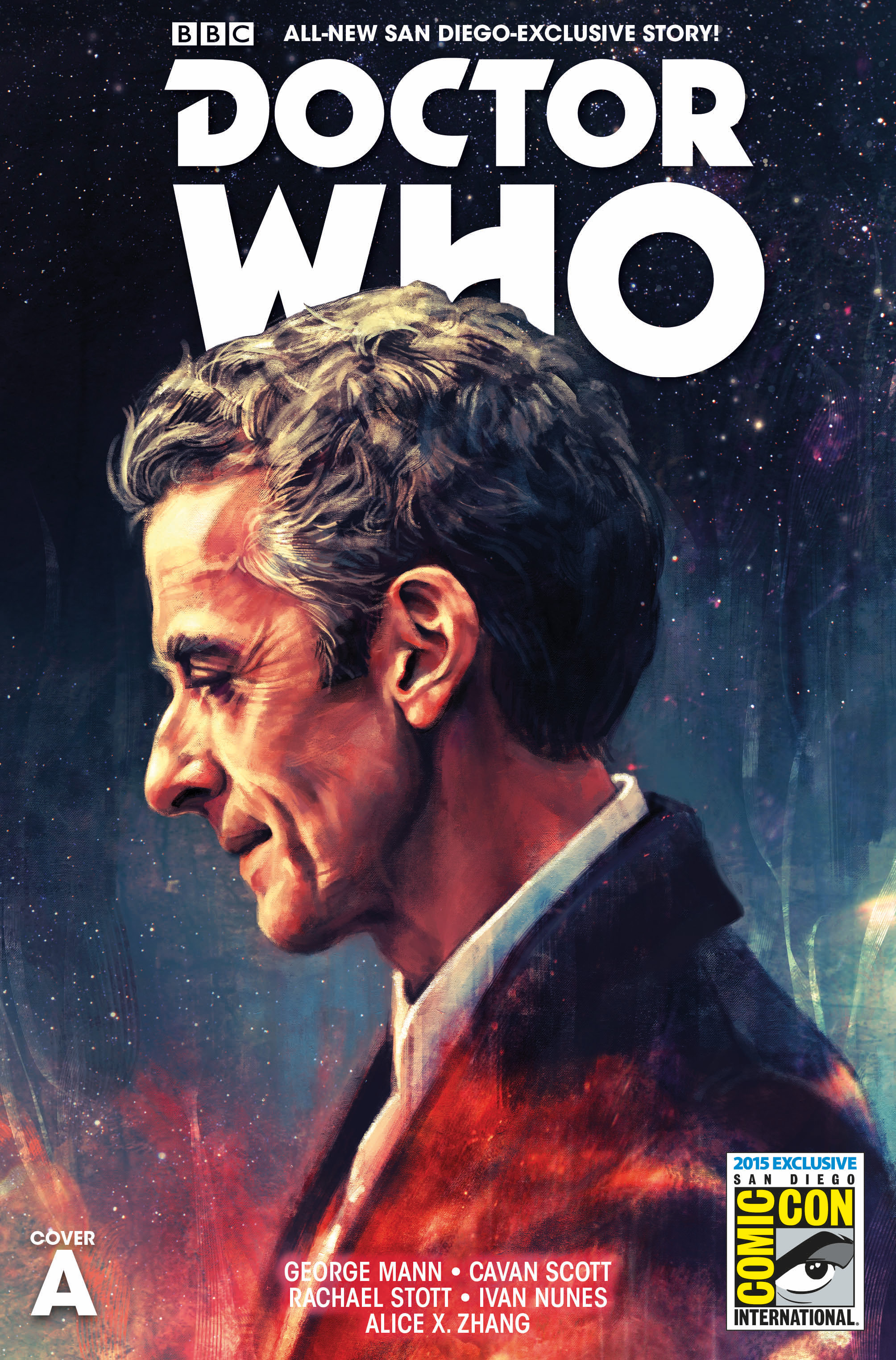 Doctor Who: The Twelfth Doctor SDCC Exclusive (Cover A) (Credit: Titan Comics)