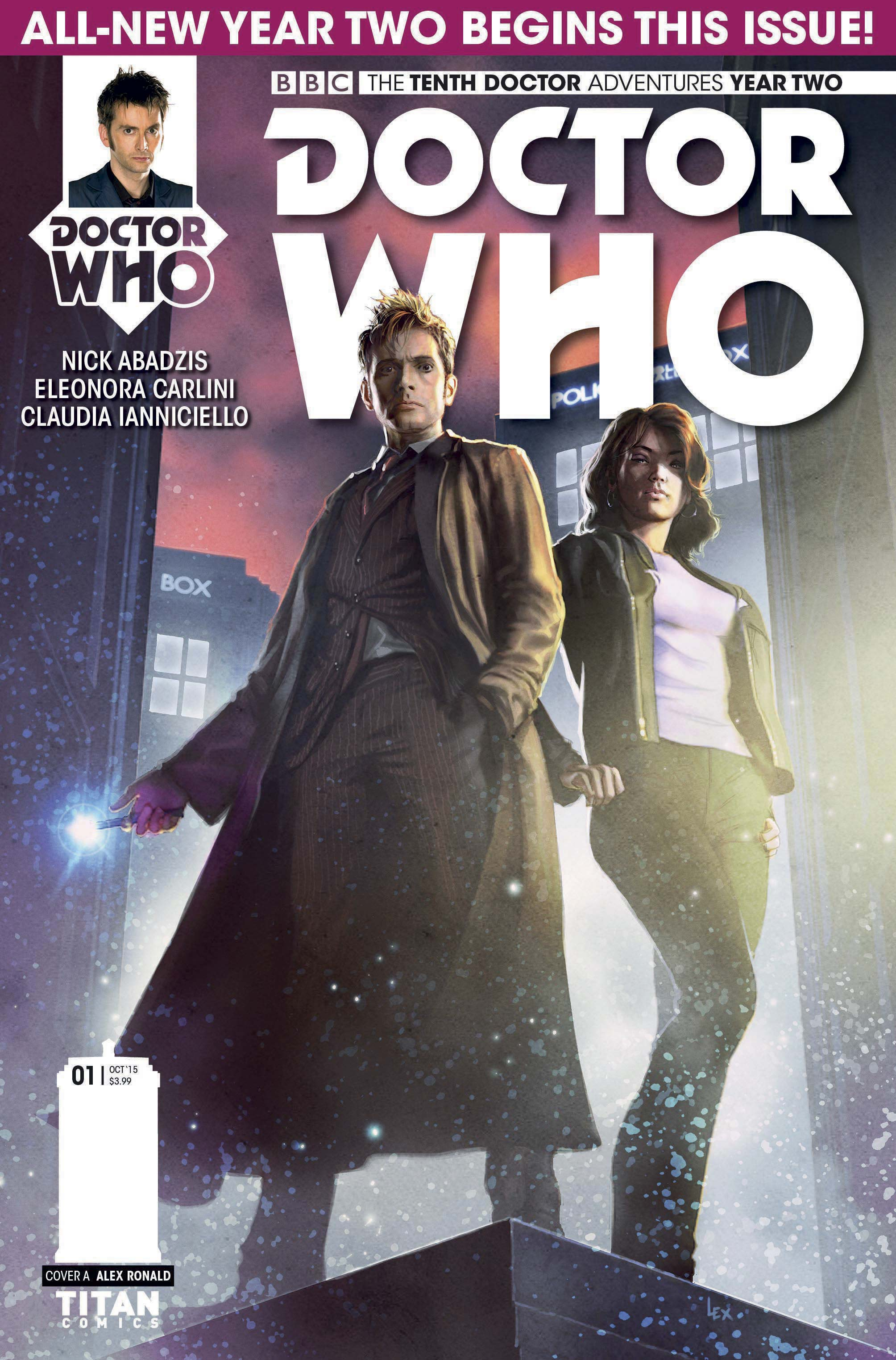 Tenth Doctor - Issue 2.1 (Credit: Titan)