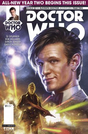 Eleventh Doctor - Issue 2.1 (Credit: Titan)