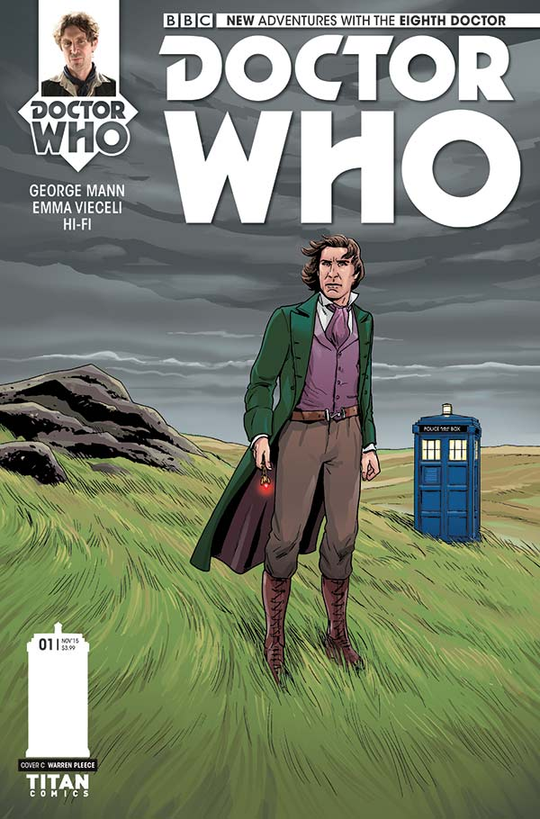 Eighth Doctor Mini-Series #1 (Credit: Titan)