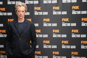 Peter Capaldi in Berlin (Credit: FOX International Channels Germany)