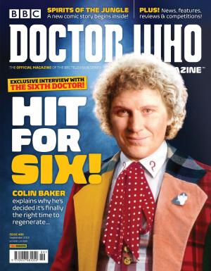 Doctor Who Magazine 489 (Credit: DWM)