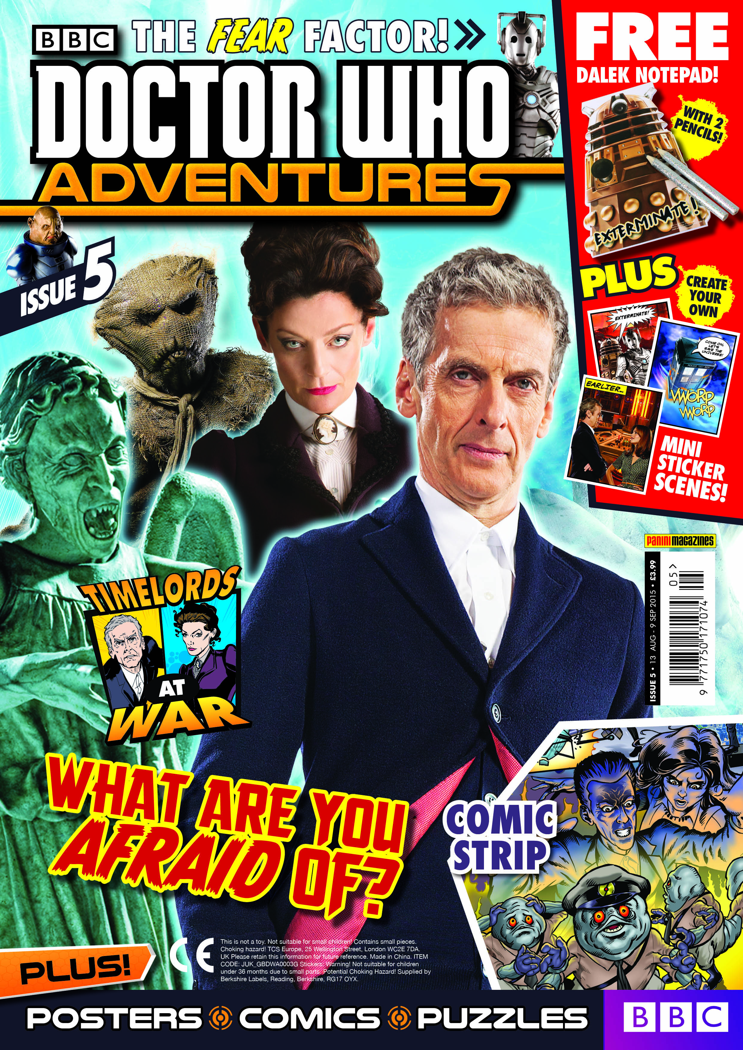Doctor Who Adventures 5 (Credit: Panini)