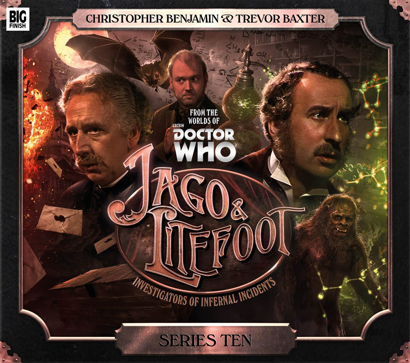 Jago & Litefoot & Strax (Credit: Big Finish)