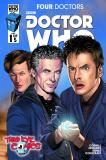 Doctor Who: Four Doctors #1 Third Eye Variant Cover (Credit: titan / Mariano Laclaustra)