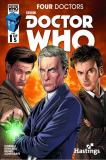 Doctor Who: Four Doctors Hastings Variant (Credit: titan / Jeff Carlisle)