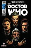Doctor Who: Four Doctors Forbidden Planet Variant Cover  (Credit: titan / Joshua Cassara And Luis Guerrero)