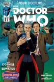 Doctor Who: Four Doctors Borderlands Variant Cover (Credit: titan / Kelly Yates)