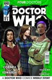 Doctor Who: Four Doctors #1 Companions Cover (Credit: titan)