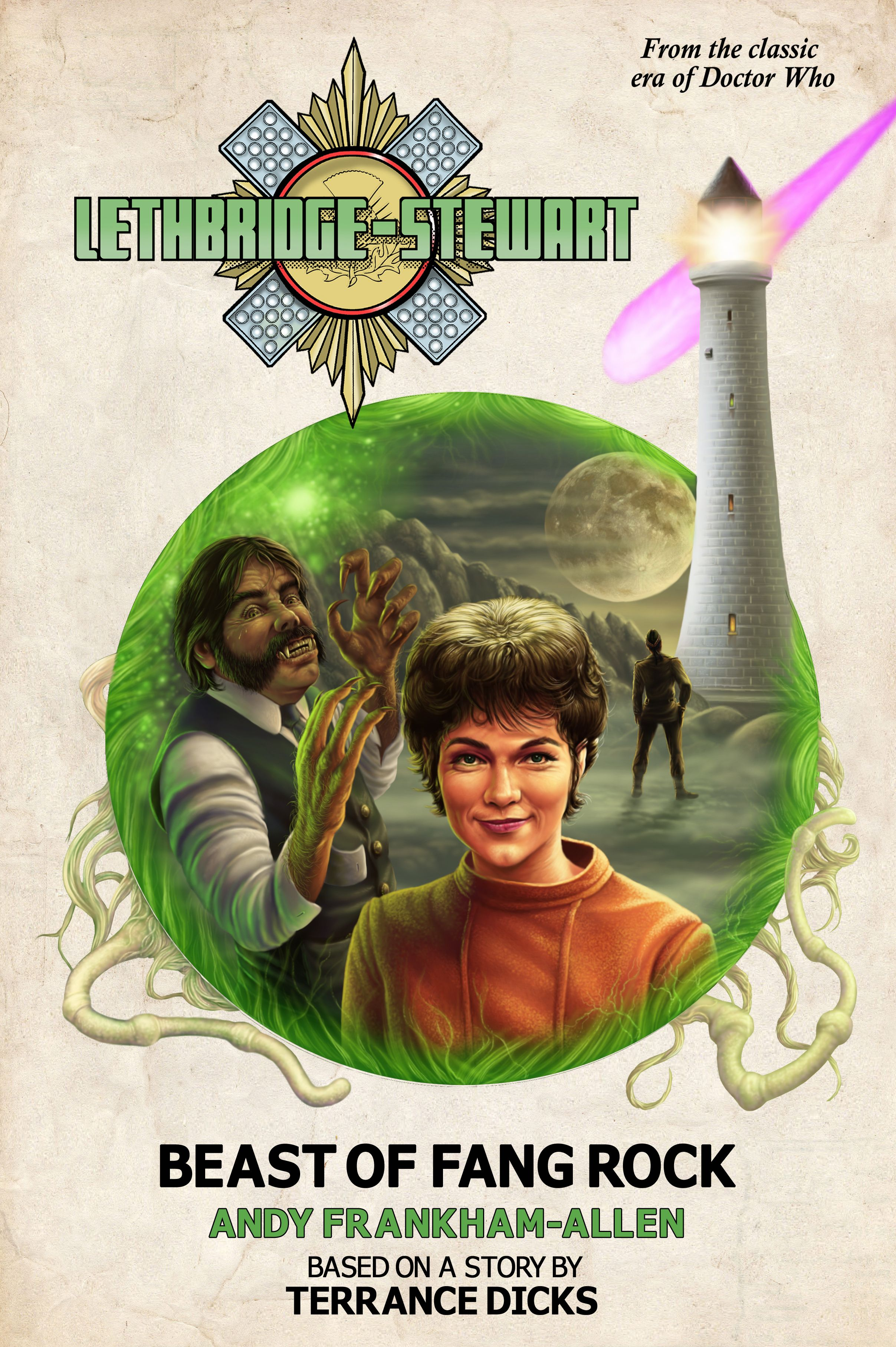 Lethbridge-Stewart: Beast Of Fang Rock (Credit: Candy Jar Books)