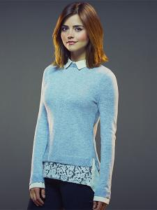 Jenna Coleman as Clara (Credit: BBC / David Venni)