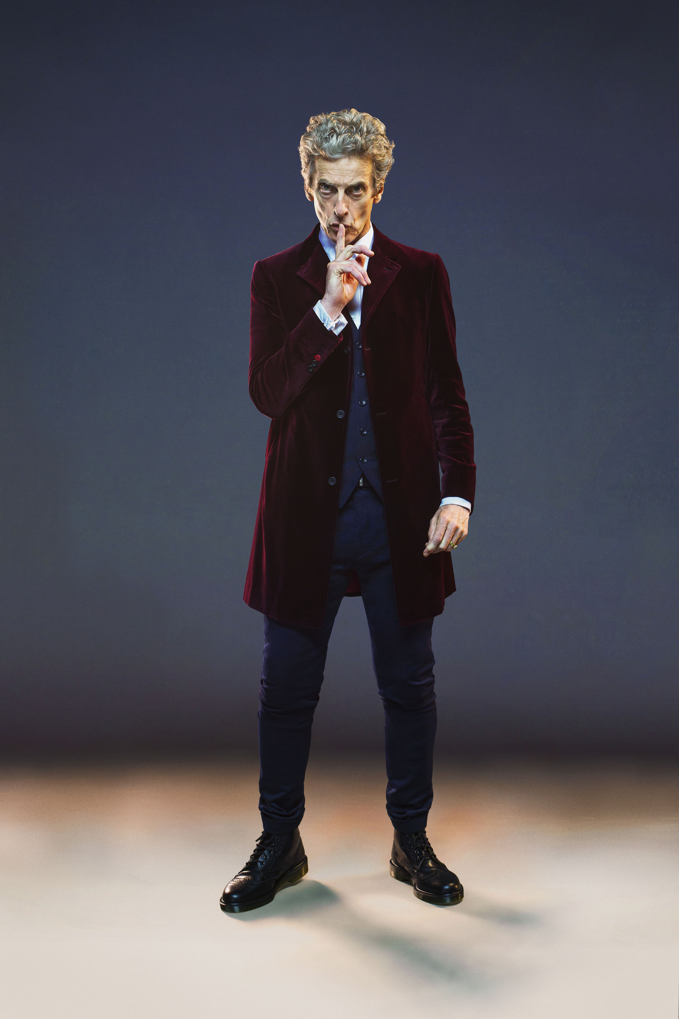 Peter Capaldi as The Doctor (Credit: BBC / David Venni)