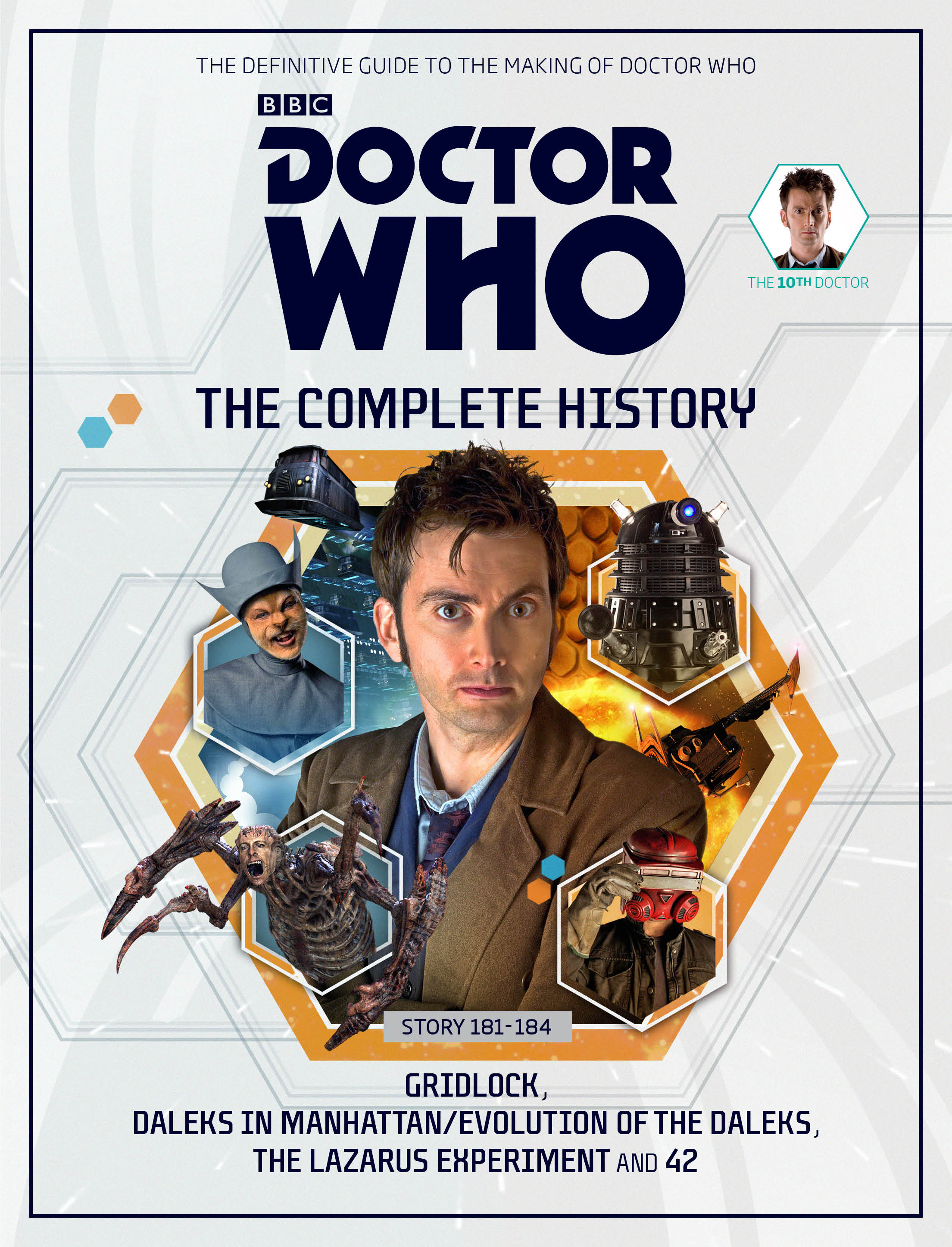 Doctor Who: The Complete History - Issue 1 (Credit: Hachette/BBC/Panini)