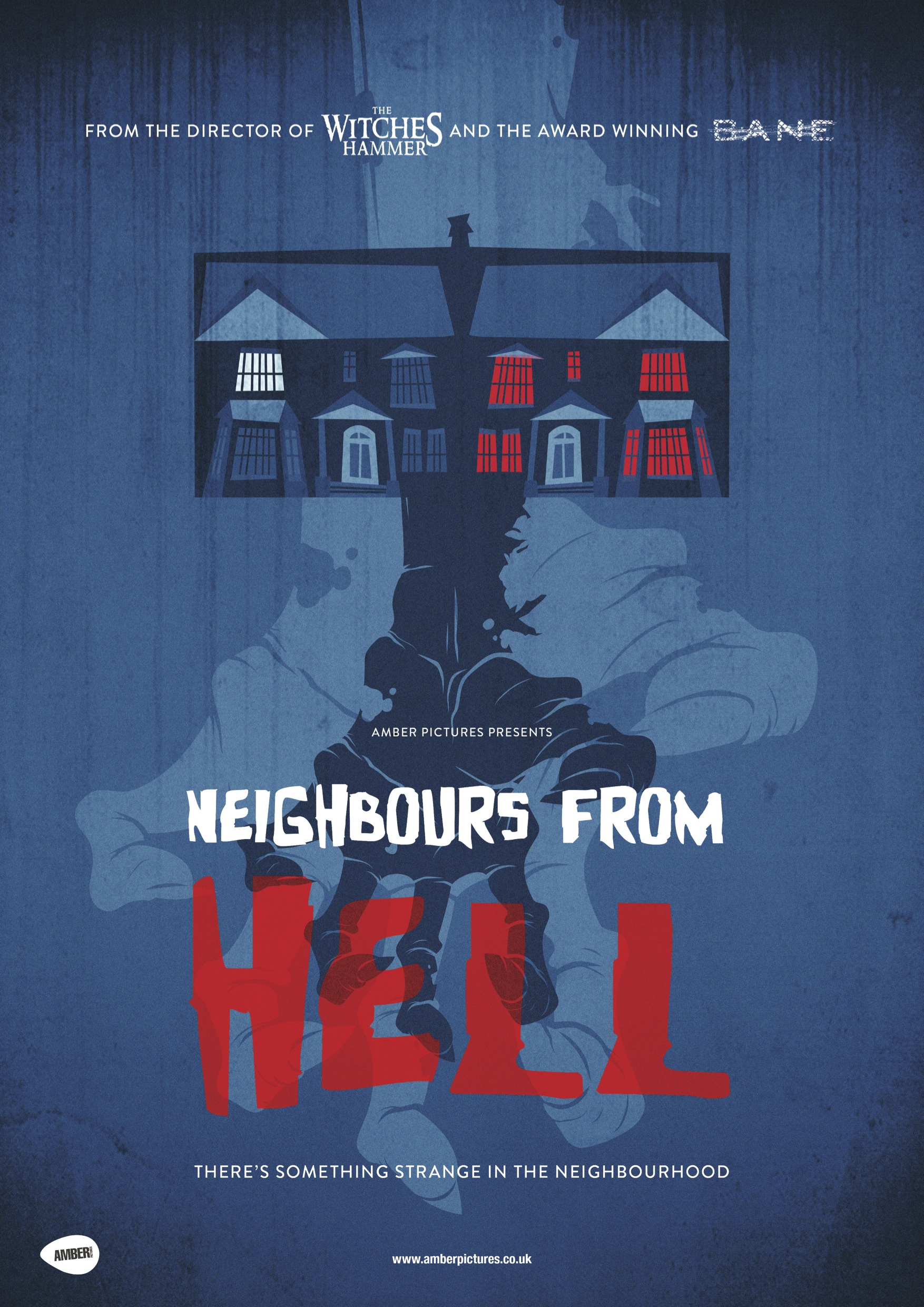 Neighbours From Hell - Poster (Credit: Amber Pictures)