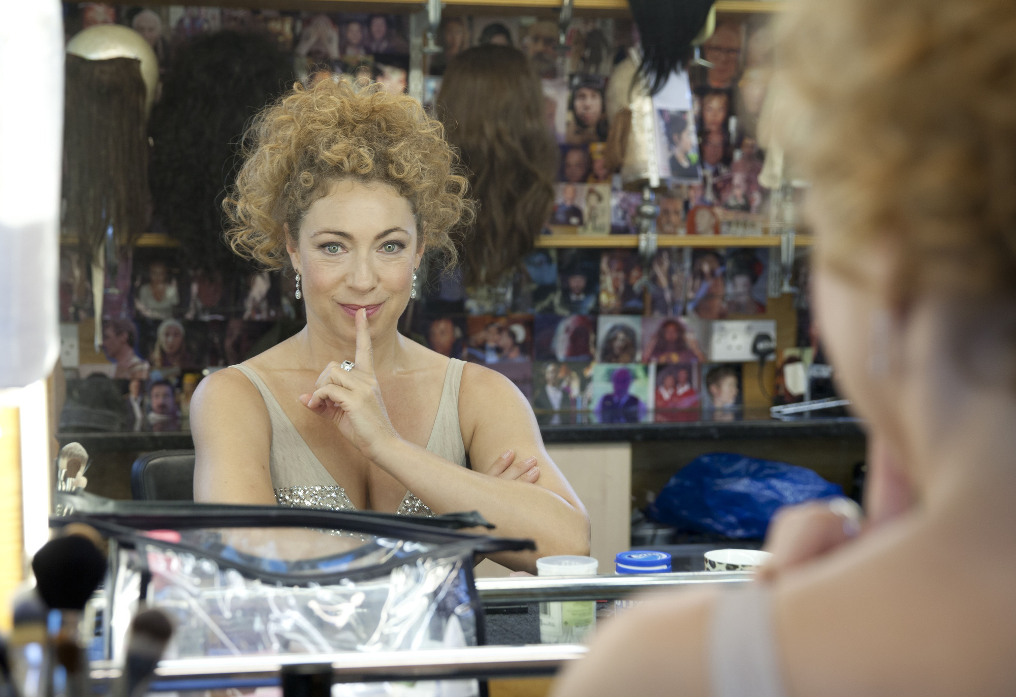 Alex Kingston (Credit: BBC/Jon Hall)