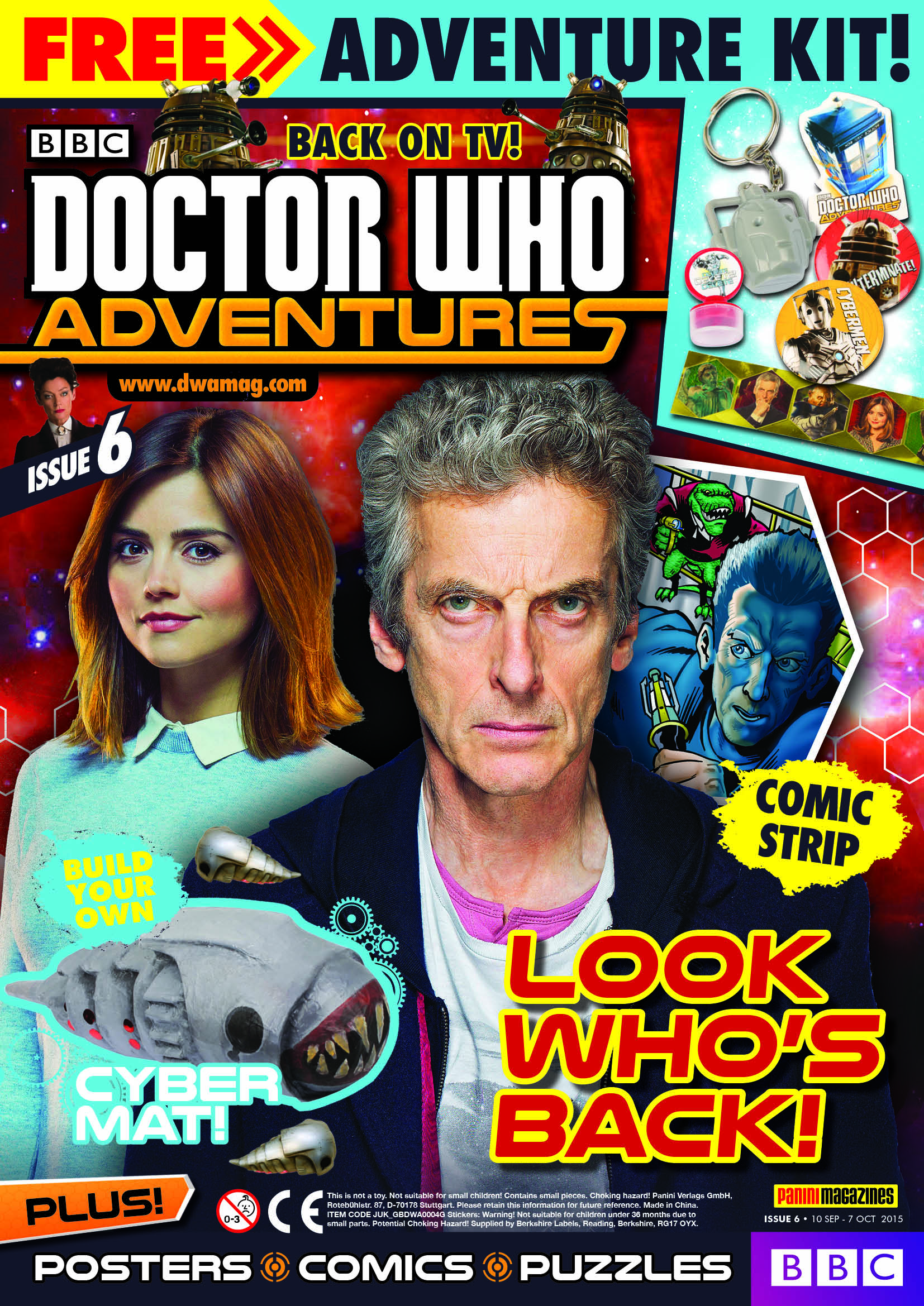 Doctor Who Adventures #6