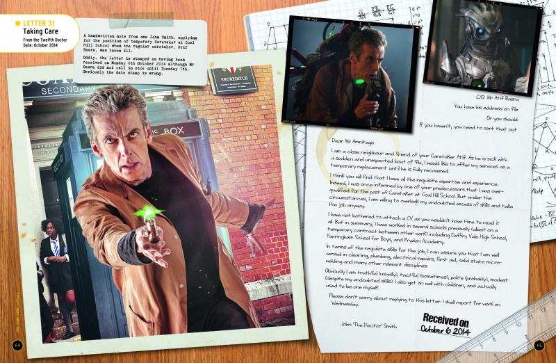 Doctor Who: Time Lord Letters (sample page) (Credit: BBC Books)