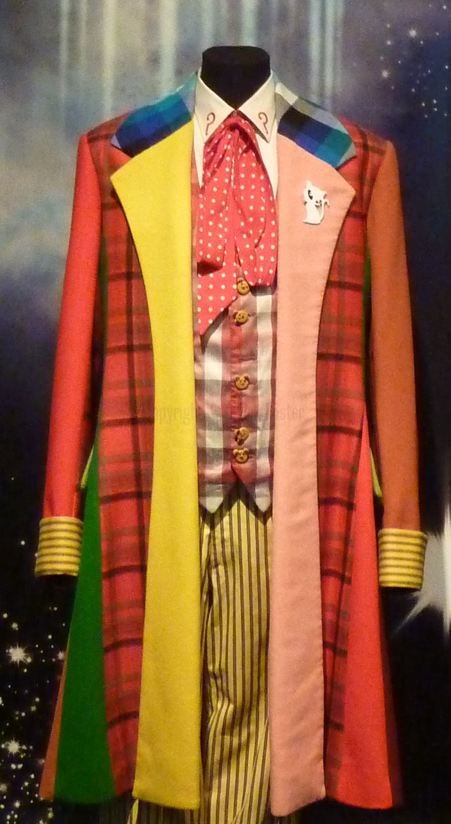 The Sixth Doctor's Costume (Credit: Chuck Foster)