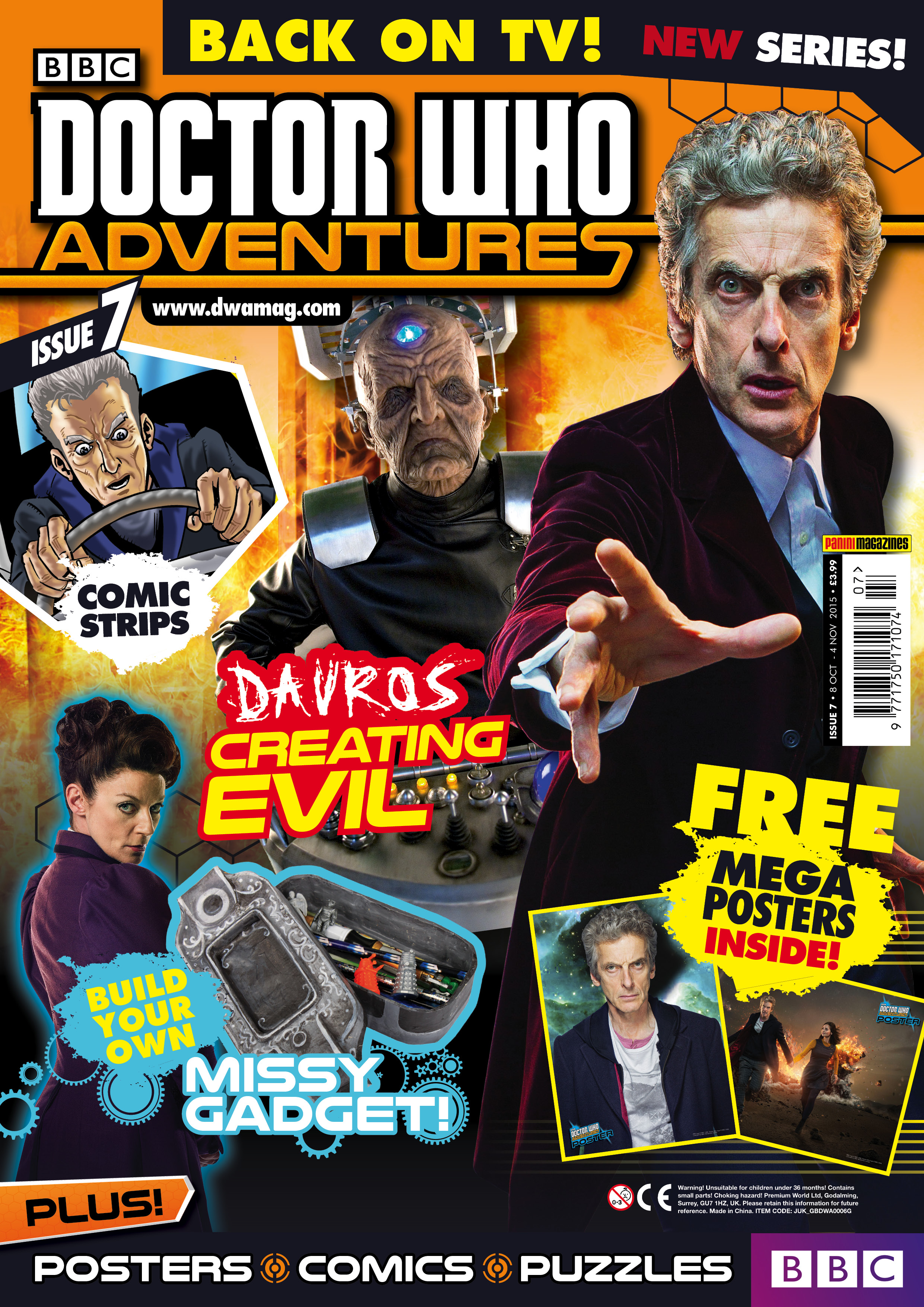 Doctor Who Adventures issue 7