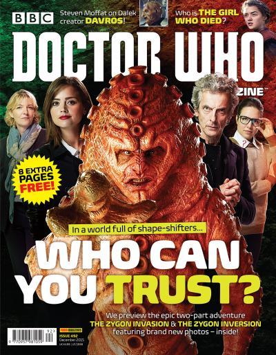 Doctor Who Magazine 492 (Credit: Panini )