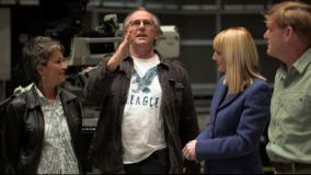 The Underwater Menace DVD: The Television Centre of the Universe: Janet Fielding, Peter Davison, Yvette Fielding and Mark Strickson (Credit: BBC Worldwide)