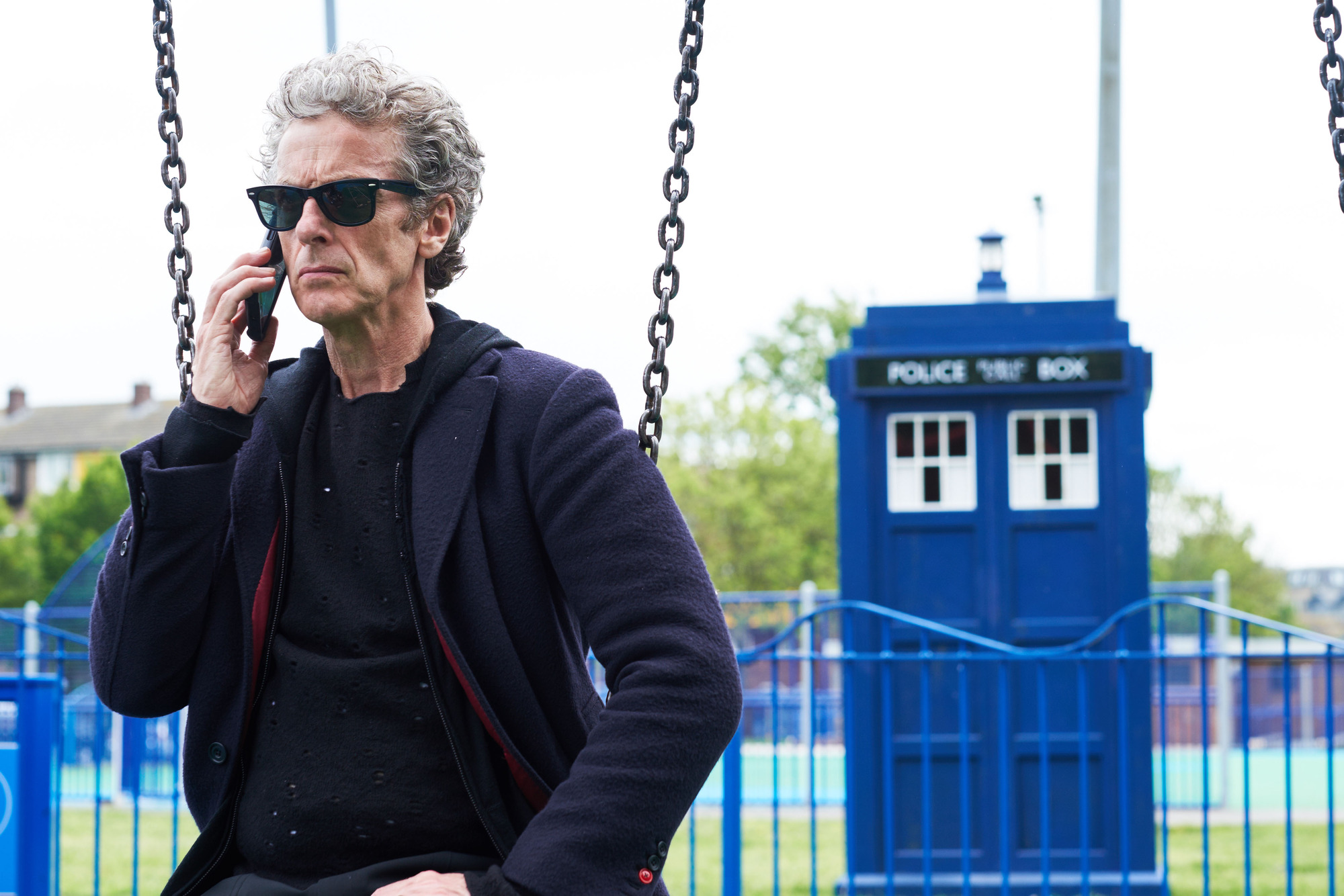 Peter Capaldi as The Doctor (Credit: BBC / Simon Ridgway)